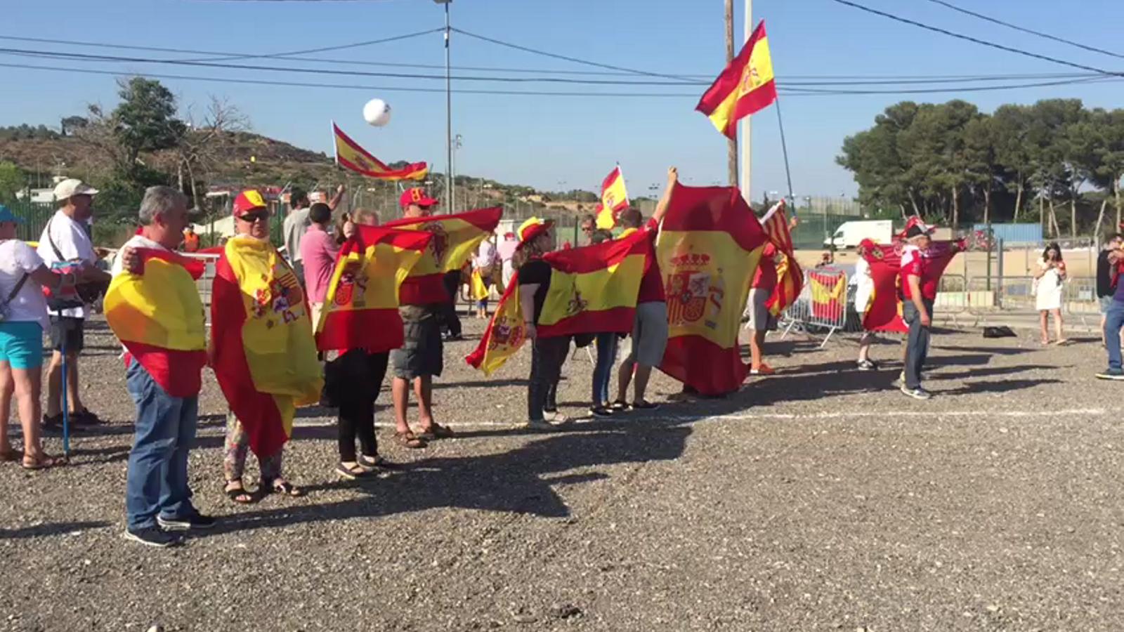 Espanyolistes i republicans, a prop però separats a Tarragona