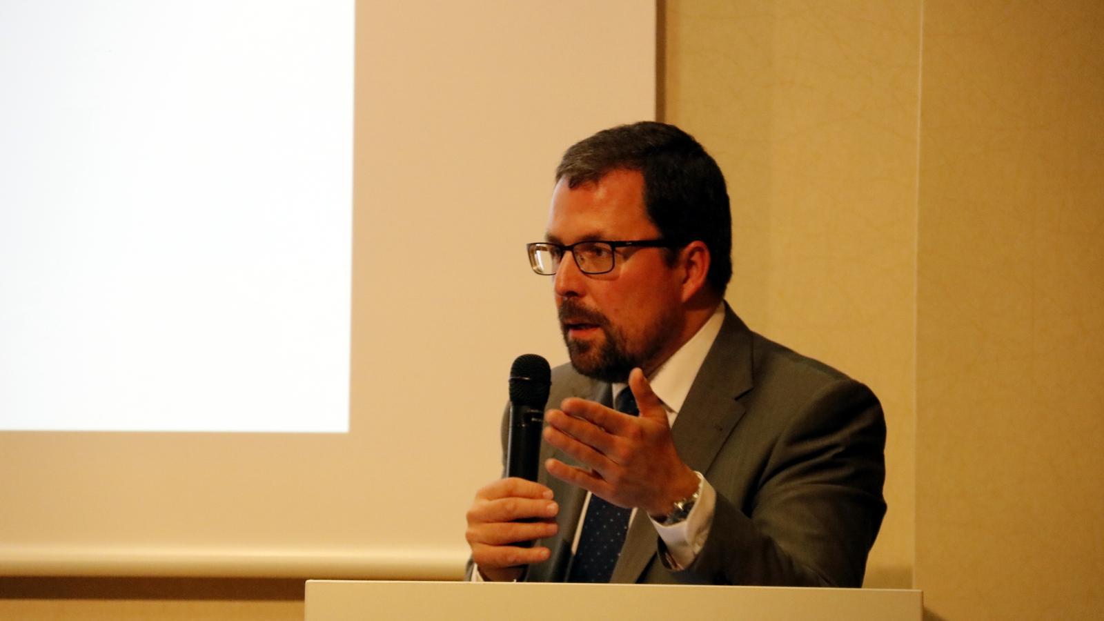 El secretari d'Indústria del govern espanyol, Raúl Blanco, en una imatge del gener passat.