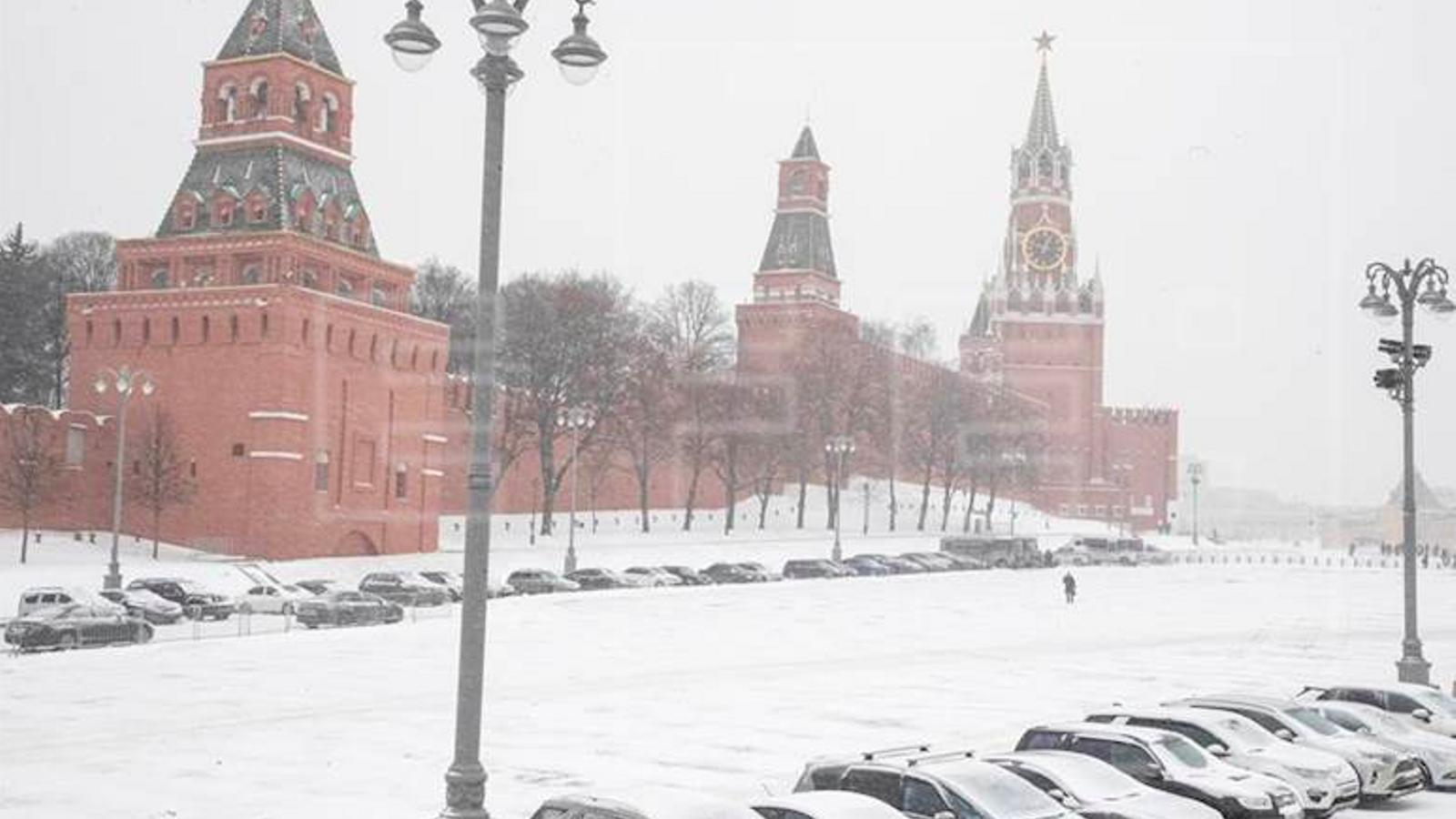 Moscou viu la nevada més abundant de l'any: la neu no es fondrà fins a la primavera