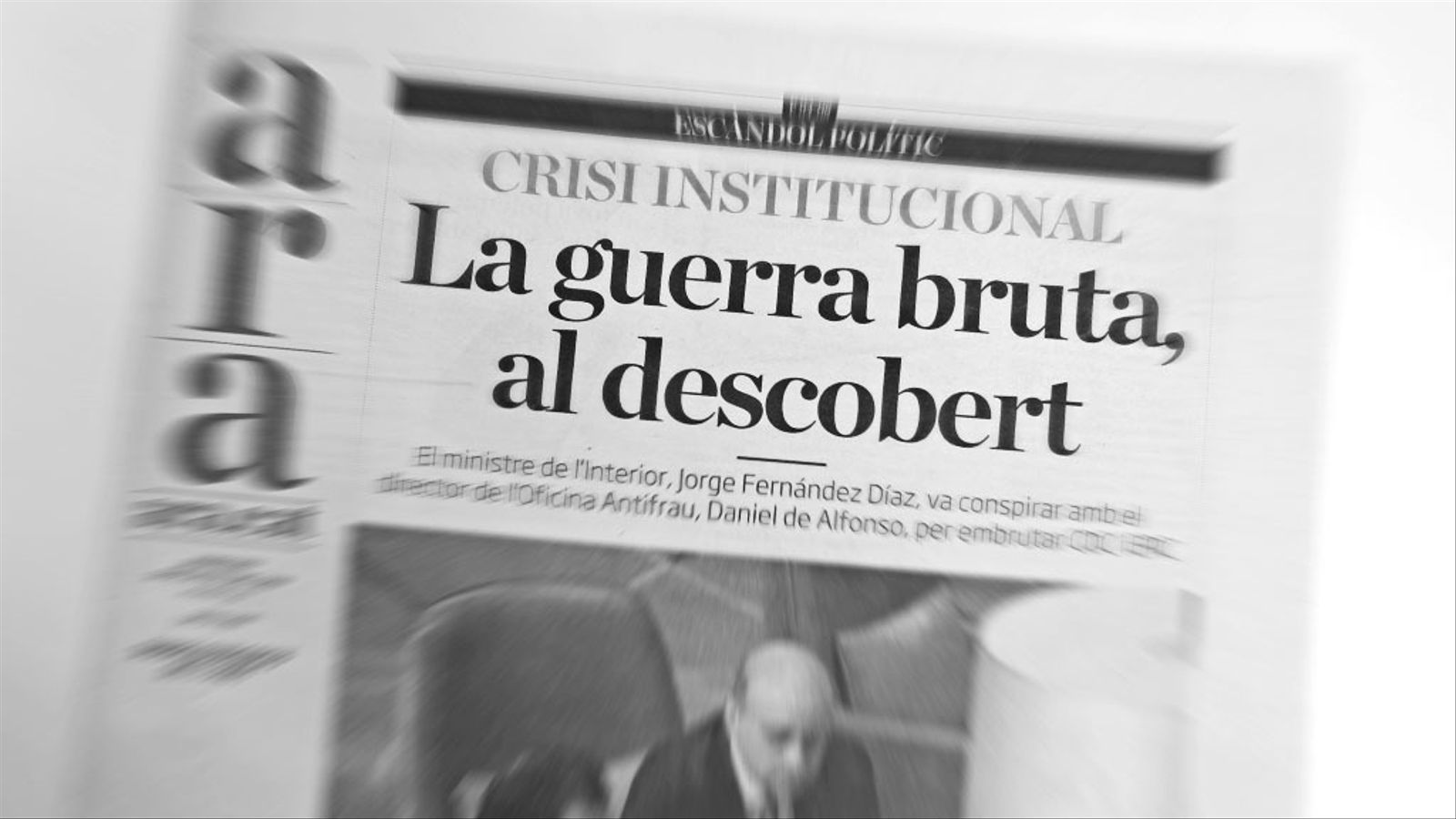 """L'anàlisi d'Antoni Bassas: 'Fernández Díaz: """"El presidente del gobierno lo sabe""""'"""