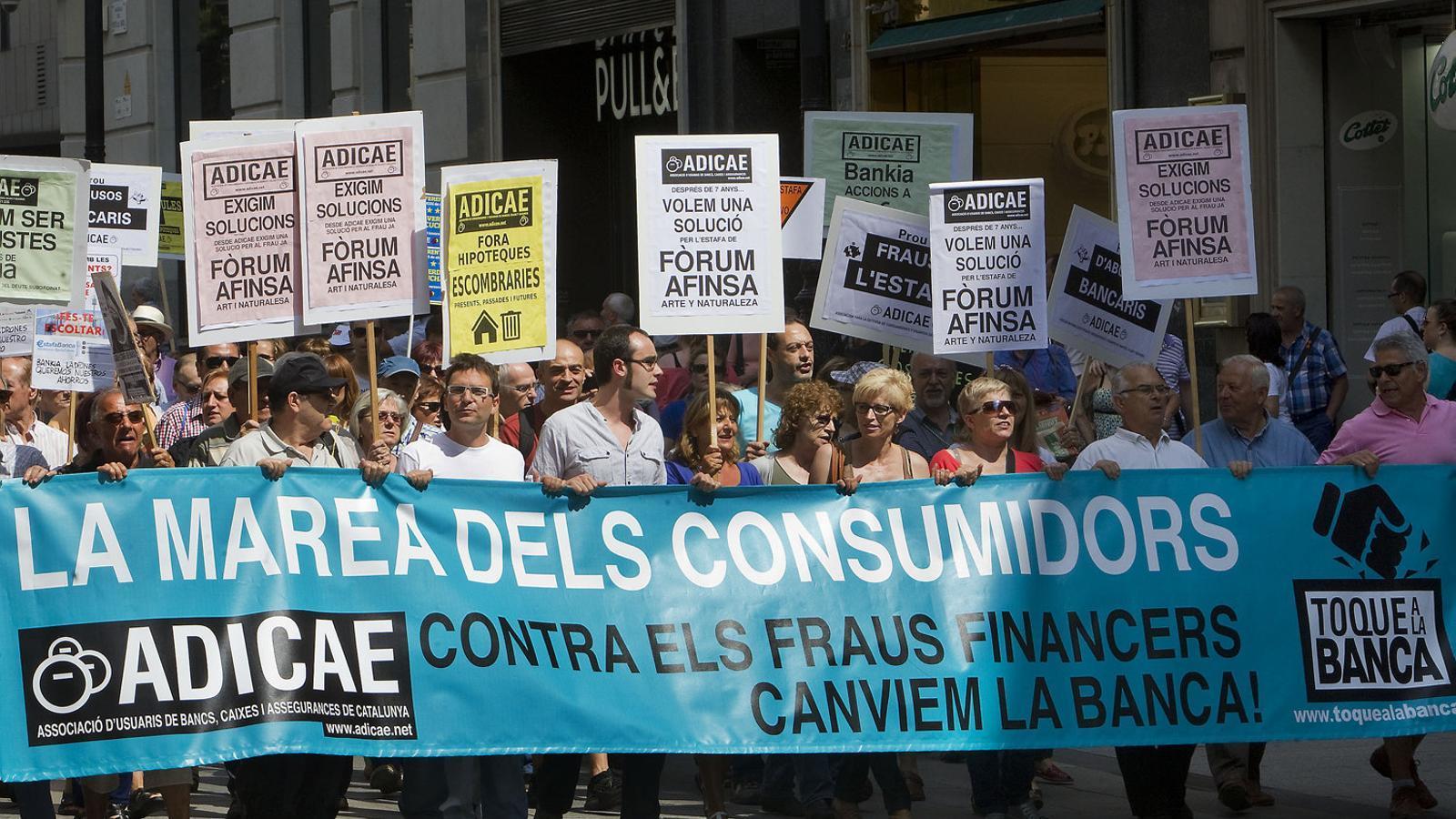 Les clàusules terra multipliquen per 14 el ritme de demandes a Barcelona