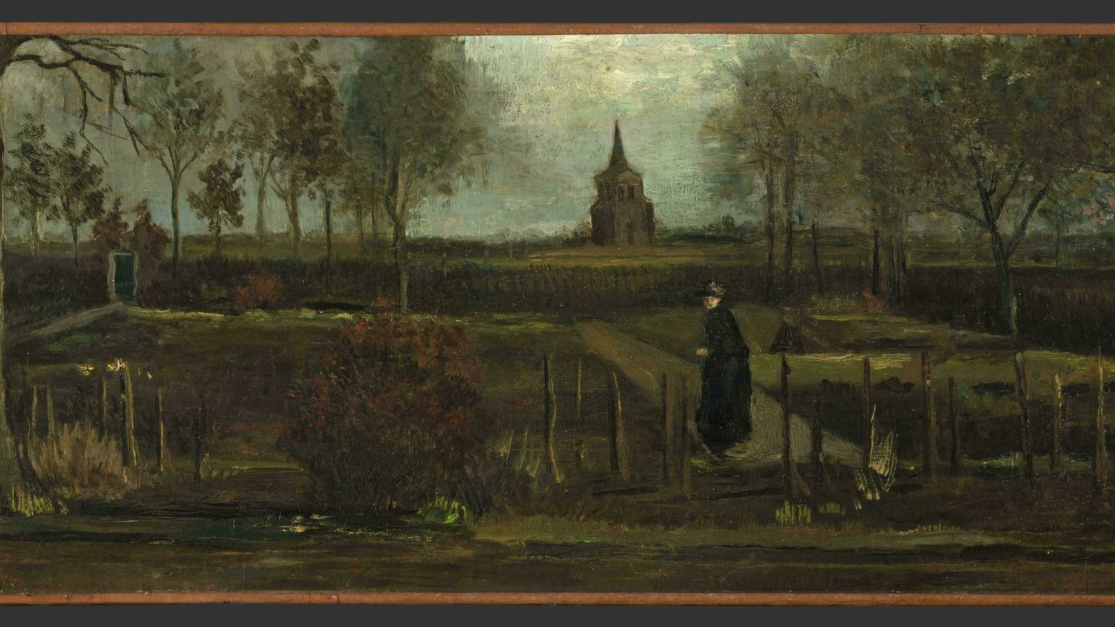 El quadre 'Jardí de primavera' de Vincent Van Gogh, robat  d'un museu holandès
