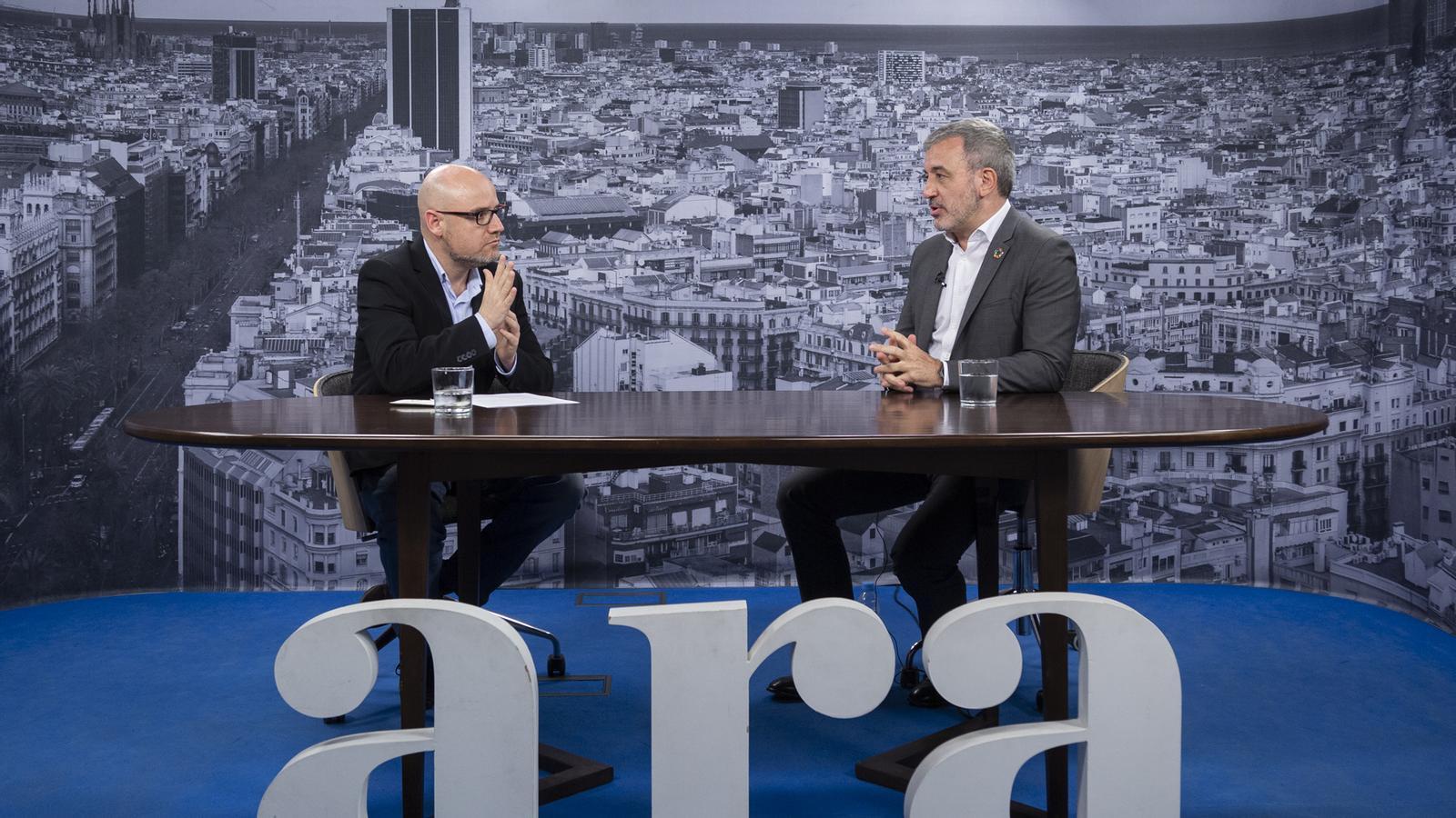 Entrevista de David Miró a Jaume Collboni