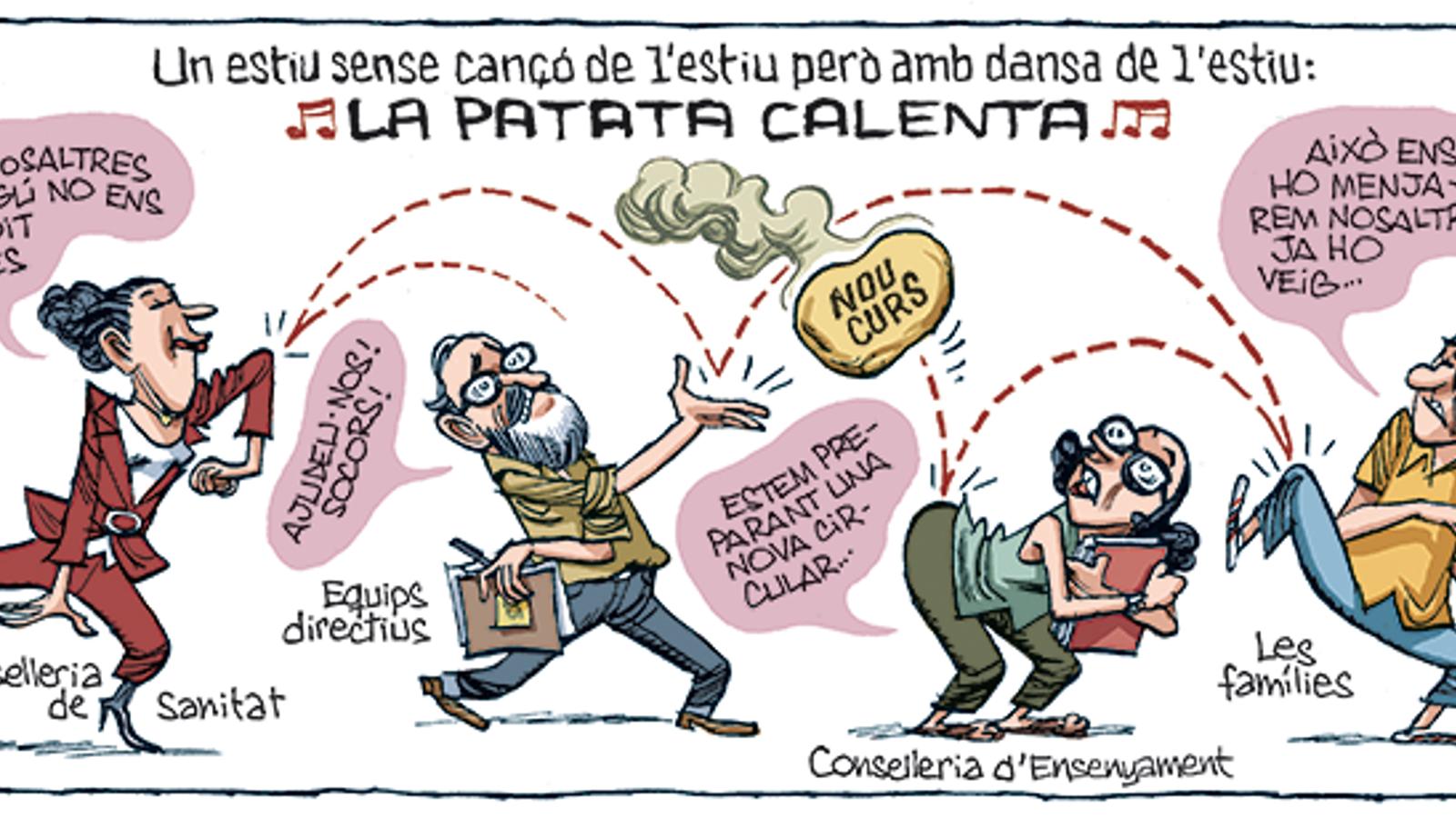 'A la contra', per Manel Fontdevila (18/08/2020)