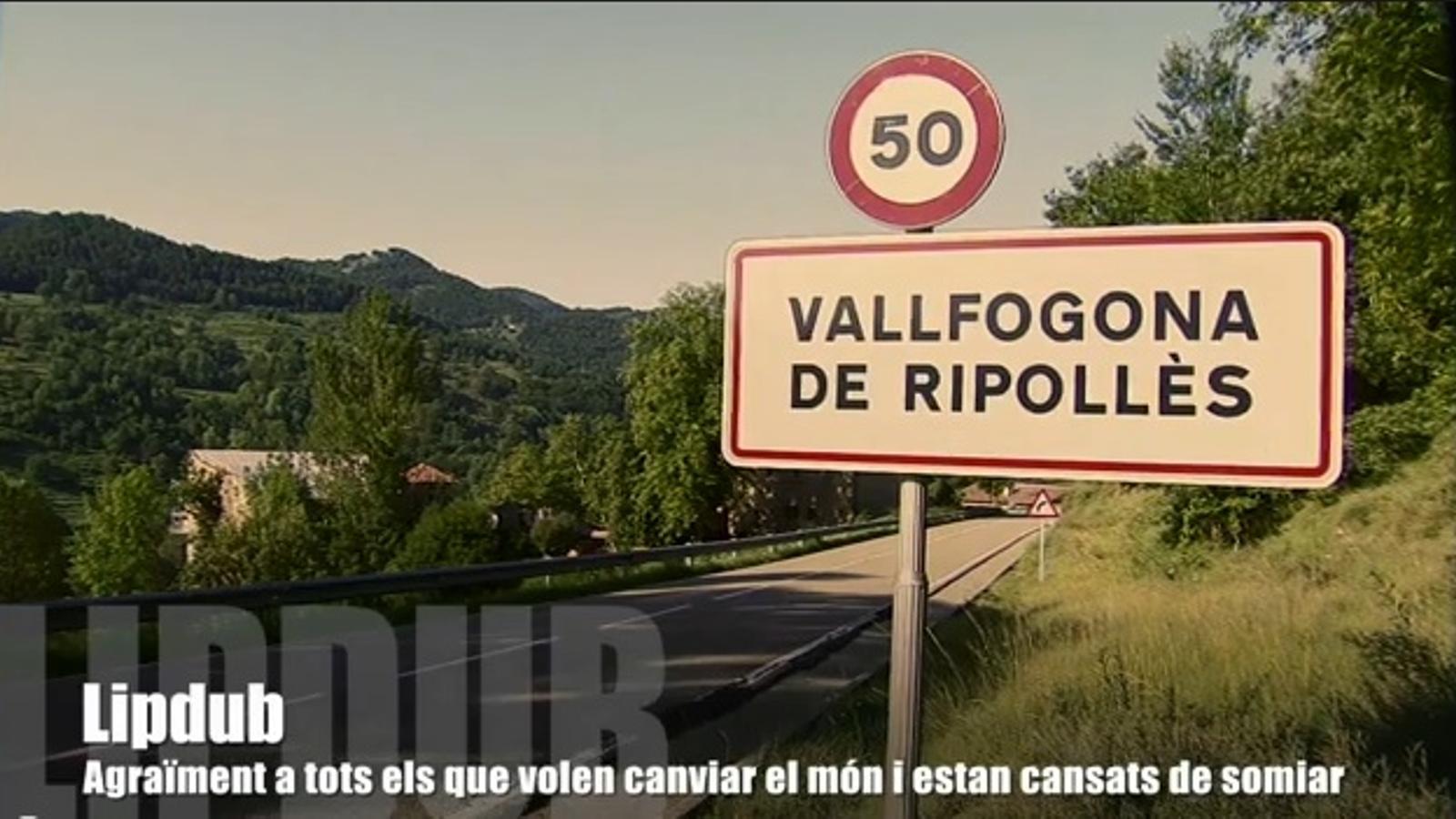 El 'Lip dub' de Vallfogona de Ripollès
