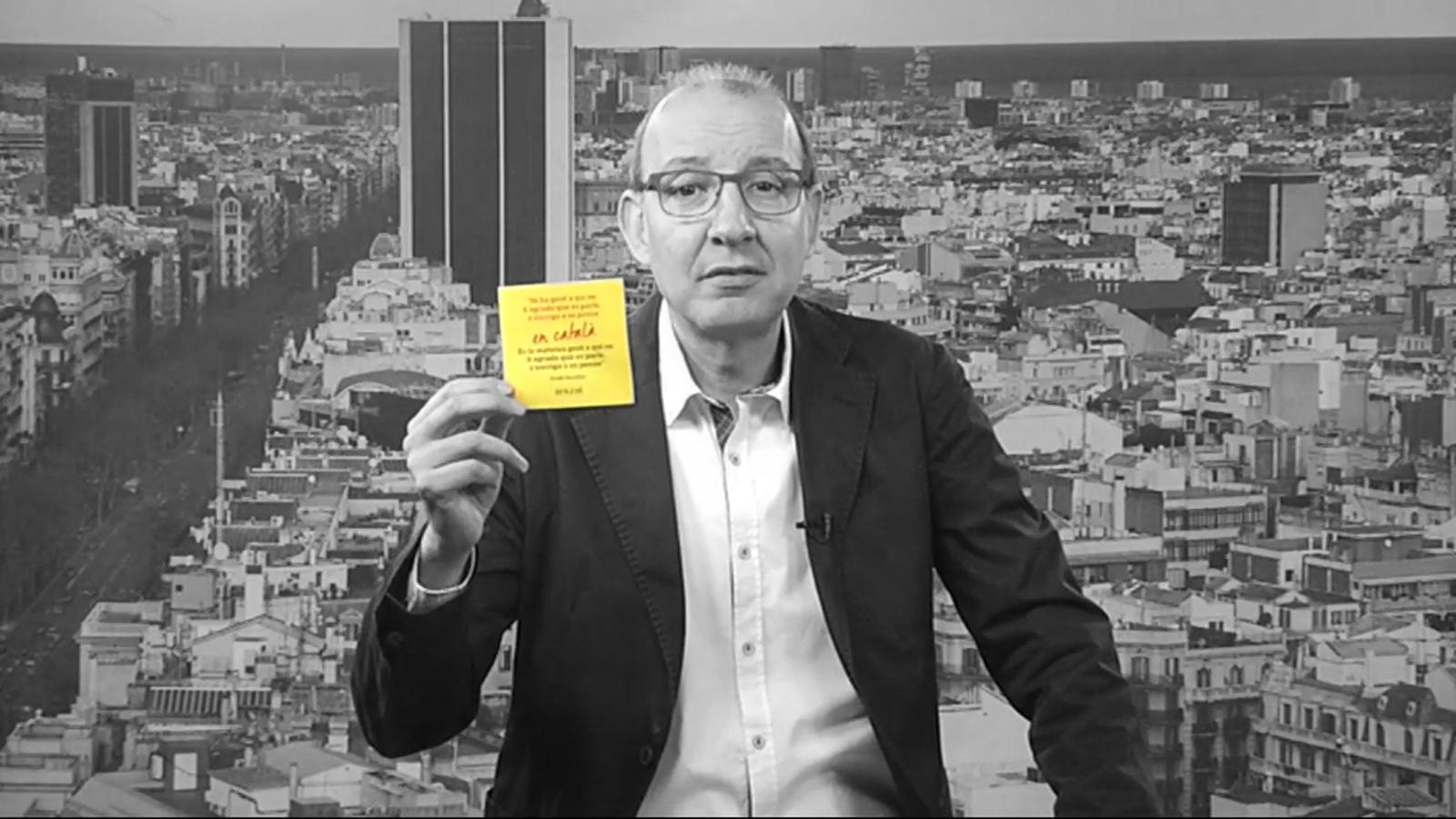 L'editorial d'Antoni Bassas: Wert i la gent a qui no li agrada que es parli, s'escrigui o es pensi (15/05/2015)