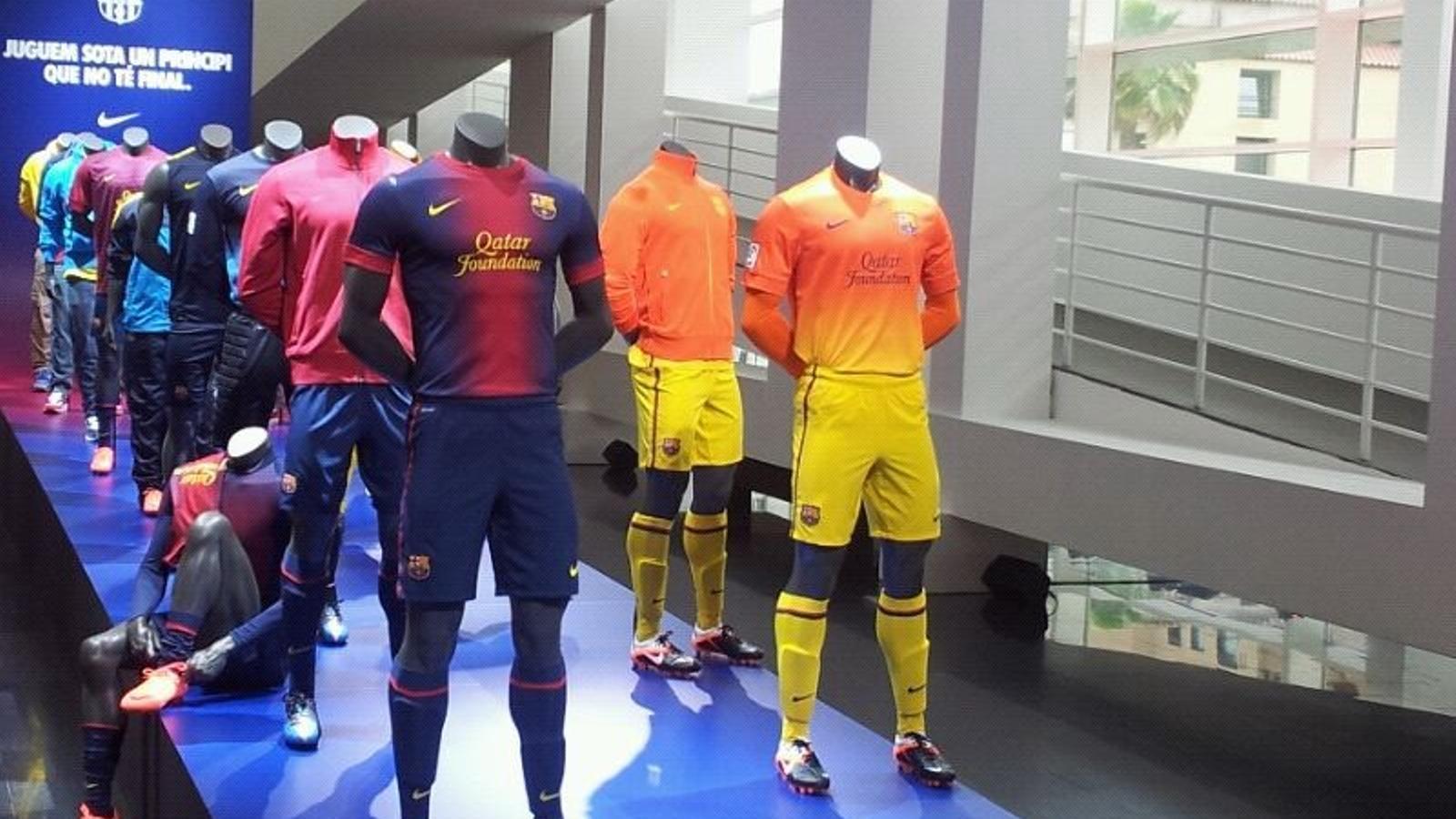 La nova equipació del Barça per a la propera temporada