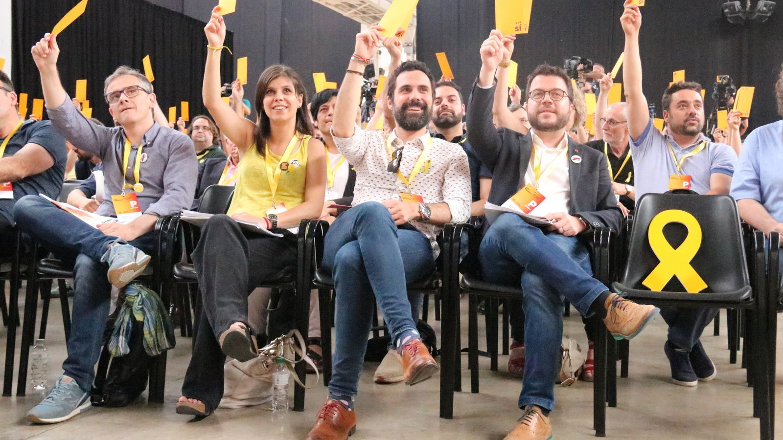 ERC aprova el seu nou full de ruta cap a la República amb el 96% del suport de la Conferència Nacional