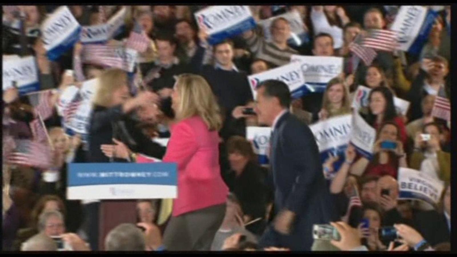Mitt Romney s'imposa al superdimarts amb una victòria ajustada a Ohio
