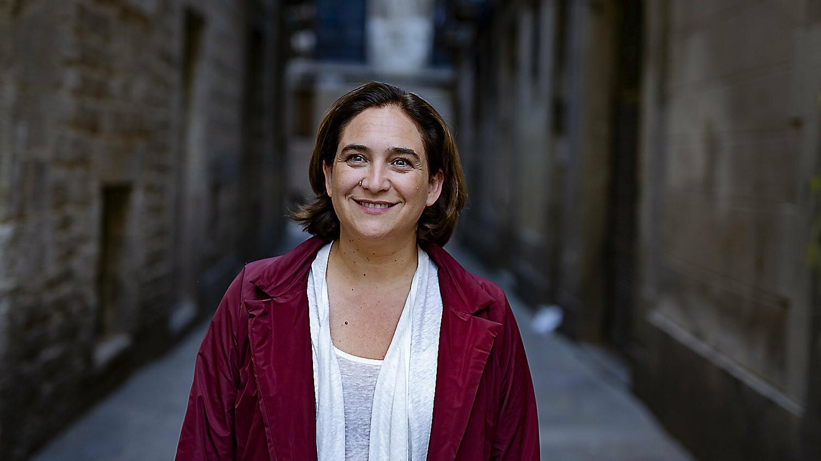 """Ada Colau: """"Hem demostrat que  posar ordre al turisme era beneficiós per a l'economia"""""""