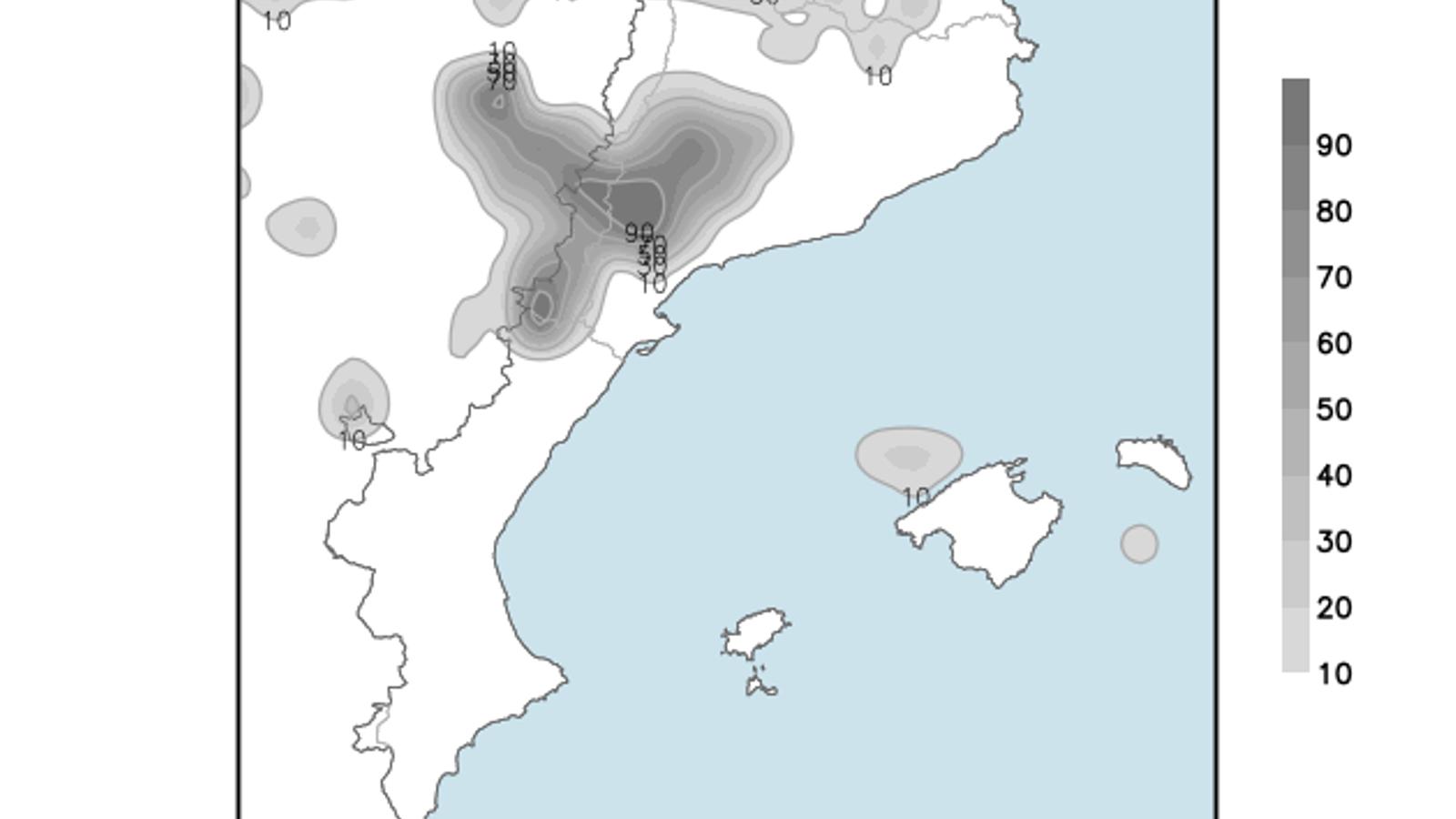 Temps estable, sol i temperatura en lleuger ascens a les Balears