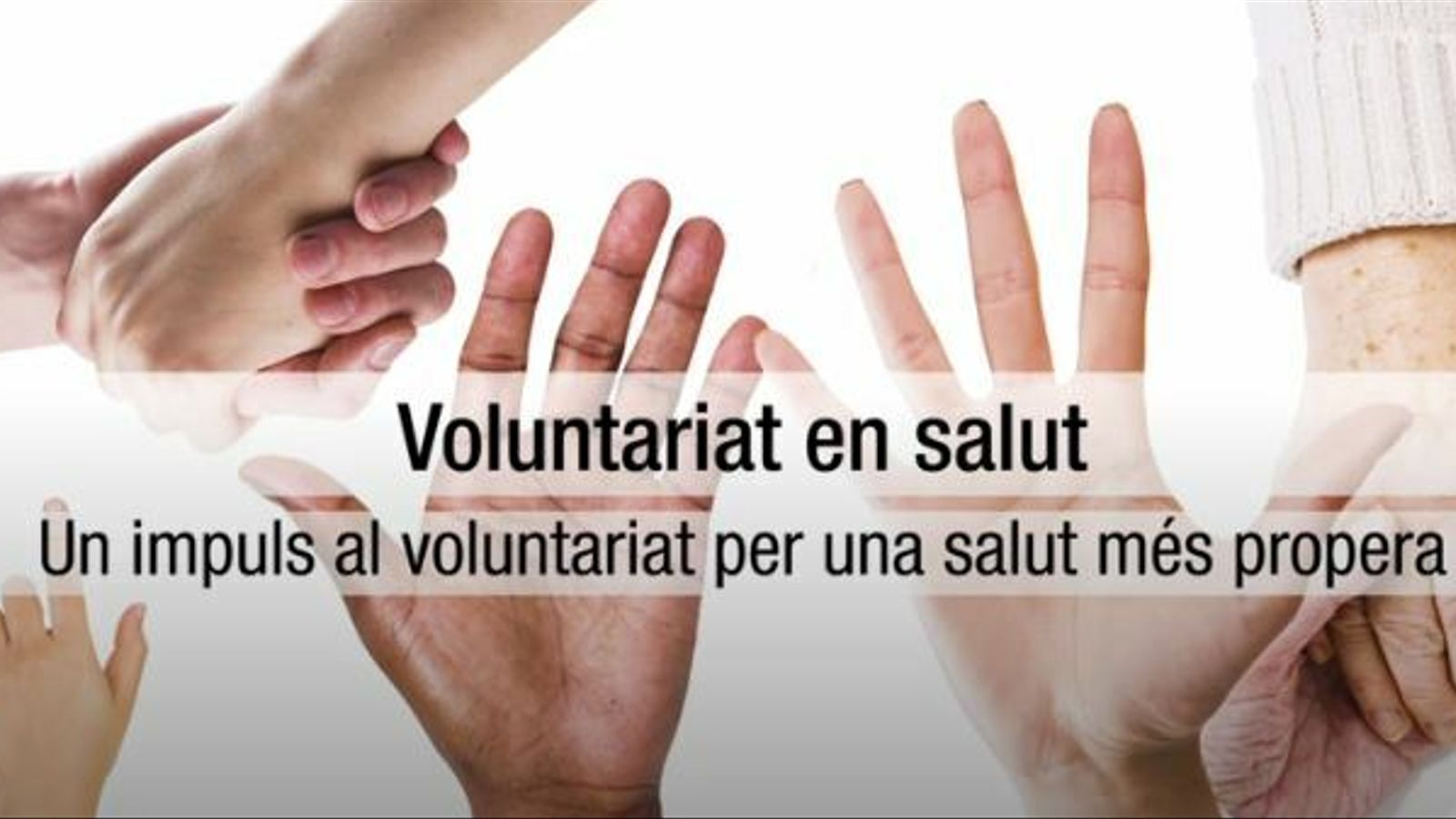Voluntariat i salut