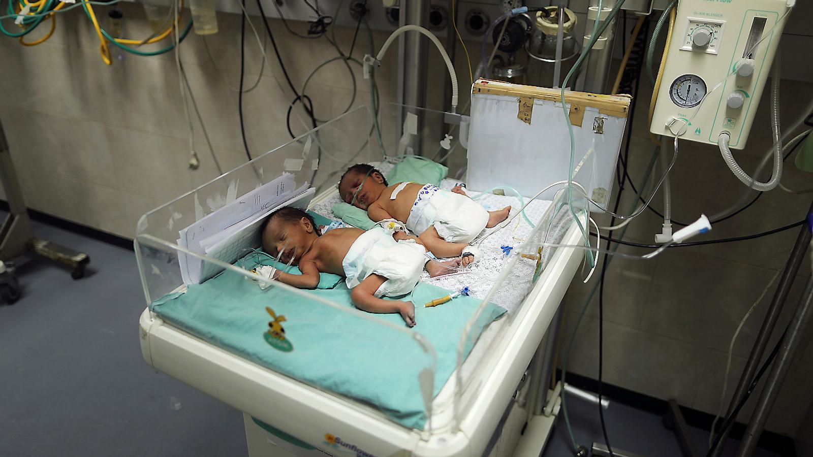 La lenta agonia dels malalts a Gaza