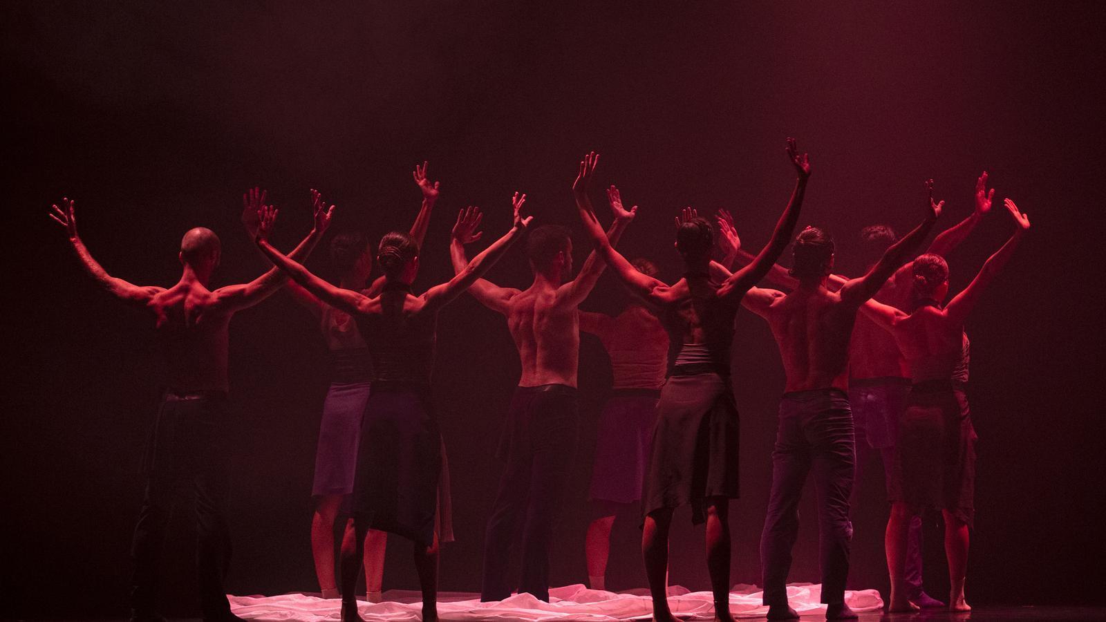 Un instant de l'espectacle de MM Contemporary Dance Music