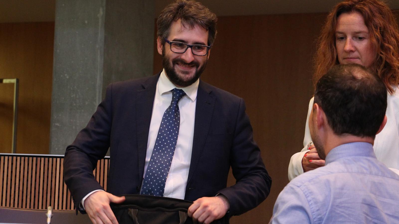 El ministre d'Educació i Ensenyament Superior, Eric Jover / ANA
