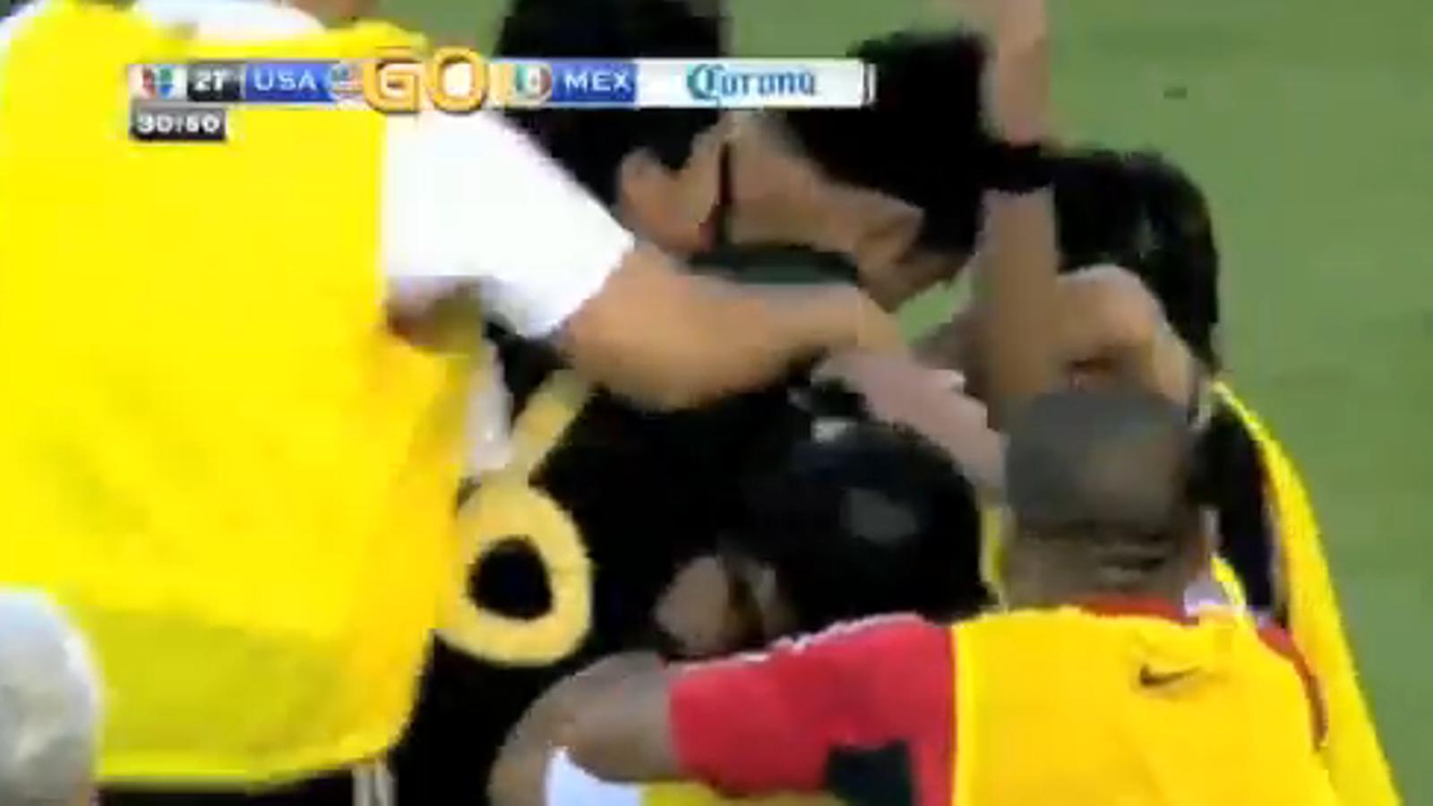 El gol de Giovani Dos Santos a la final de la Copa d'Or