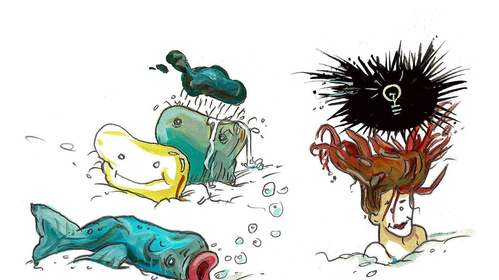 Neix 'Gràfica radiant', l'aposta  de l'ARA pel còmic d'avantguarda