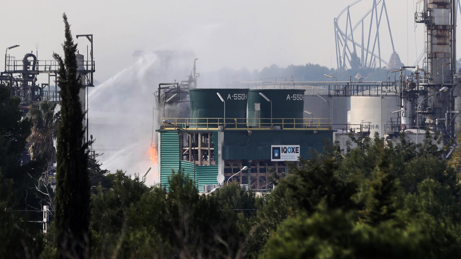 Treball va sancionar quatre cops l'empresa de l'explosió de Tarragona