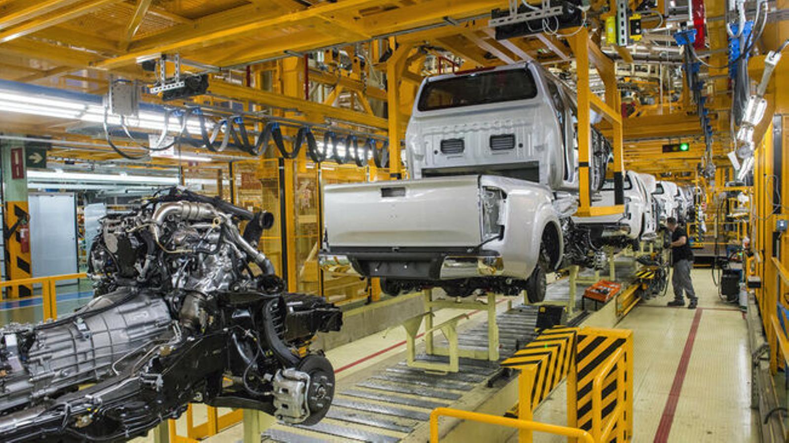 La fàbrica de Nissan de la Zona Franca
