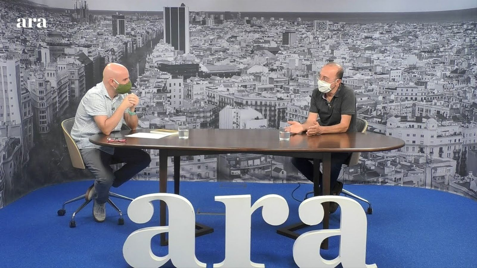 Entrevista de David Miró a Manel Lucas