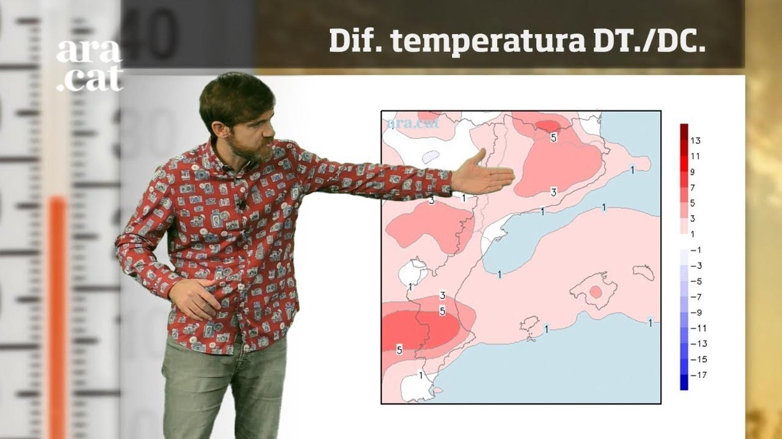 La méteo en 1 minut: temperatures més altes a l'espera de l'estiuet de Sant Martí