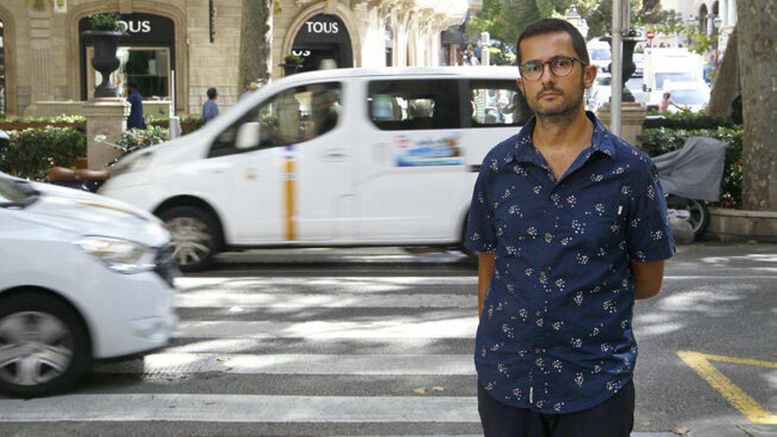Joan Ferrer, exregidor de Mobilitat de l'Ajuntament de Palma