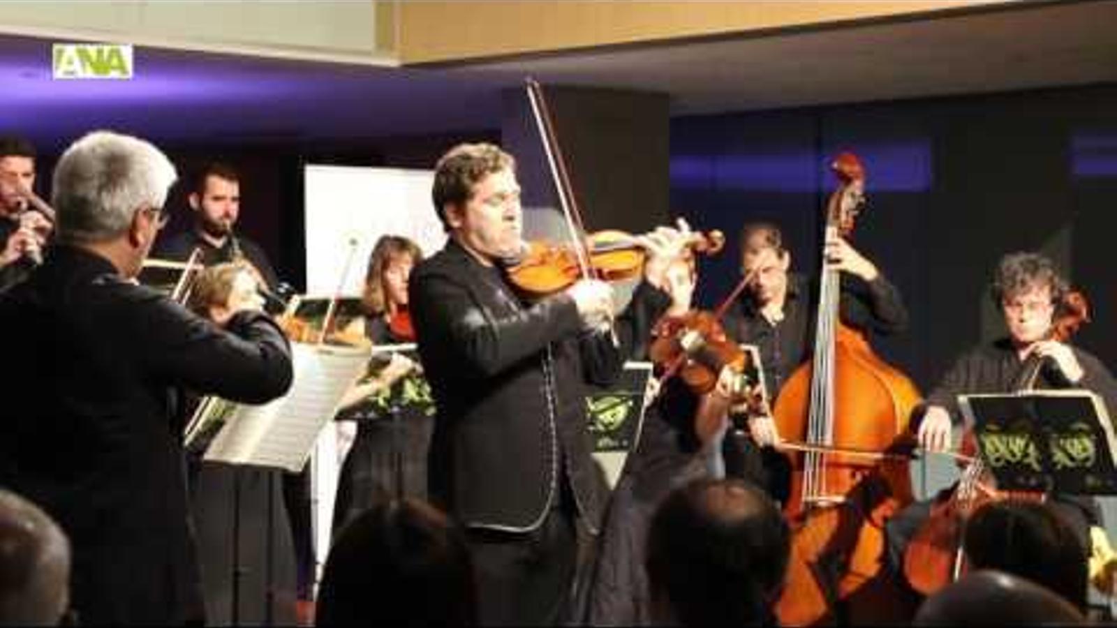 Concert de l'ONCA i Abel Tomàs