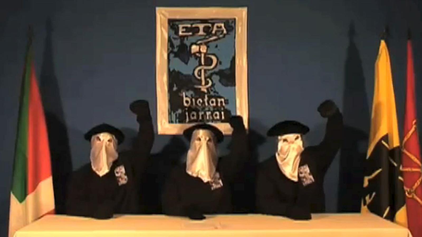 El primer any de l'epíleg d'ETA