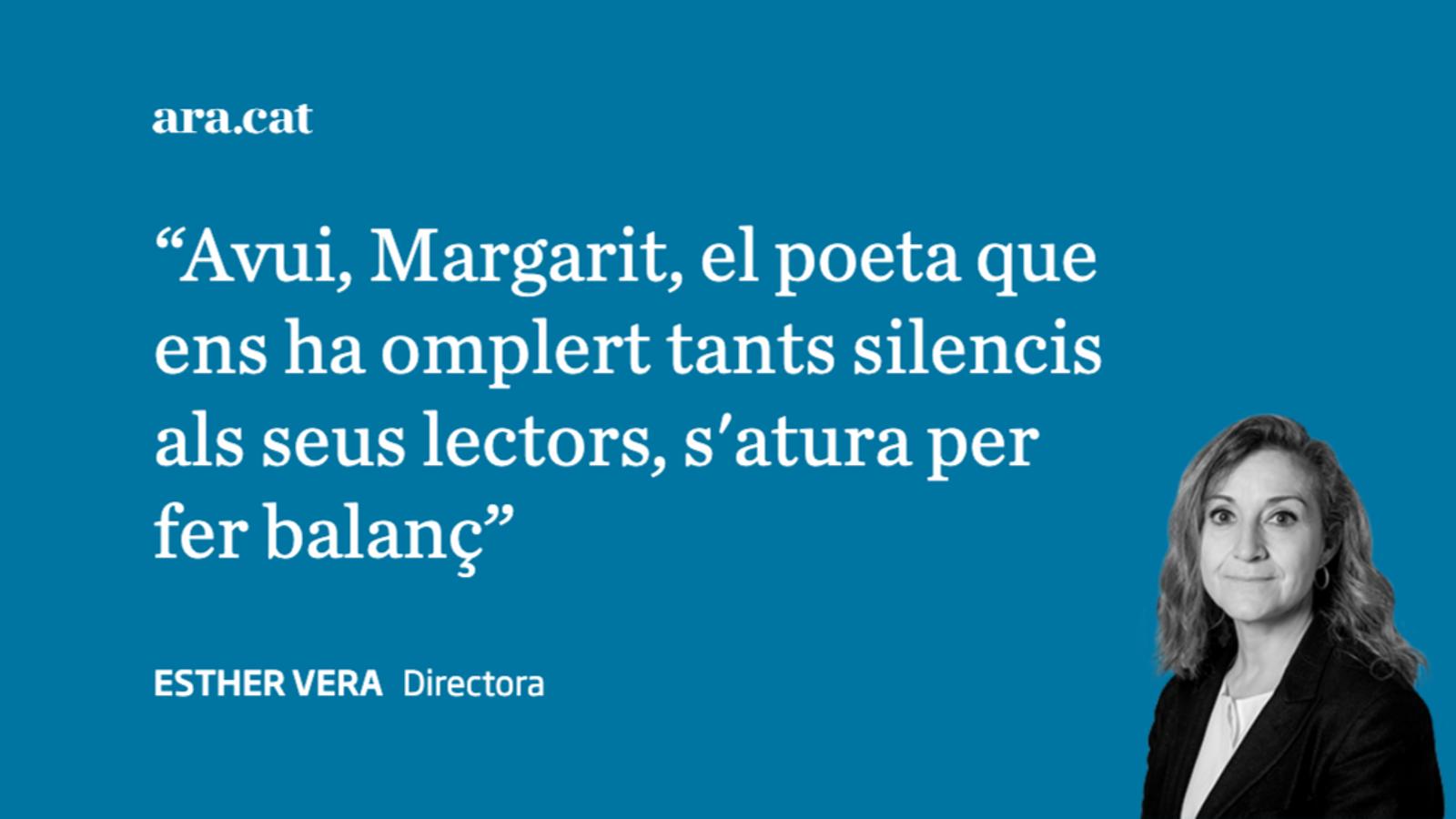 Margarit i l'austeritat de la veritat