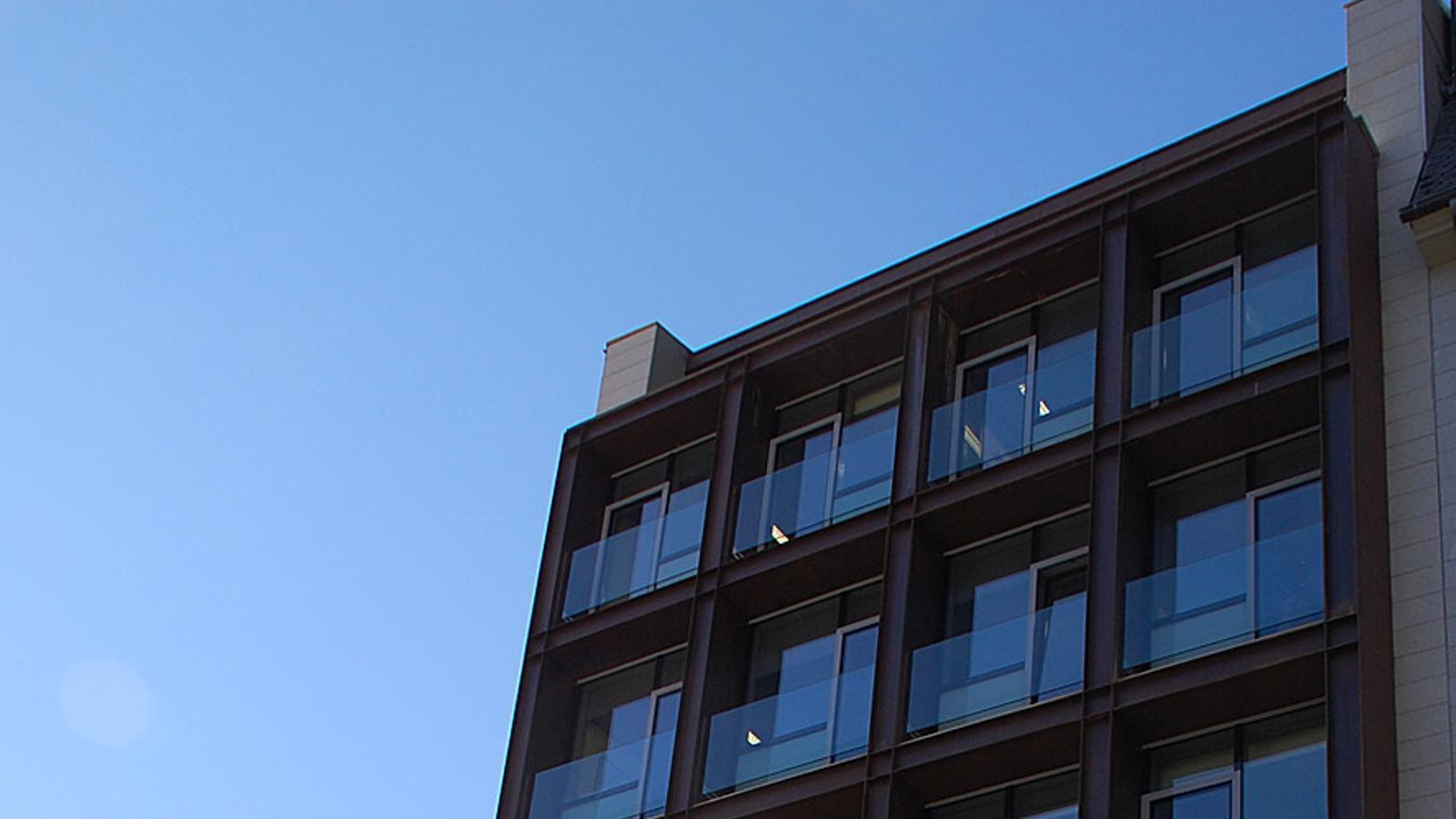 L'edifici Prat del Rull. / ARXIU