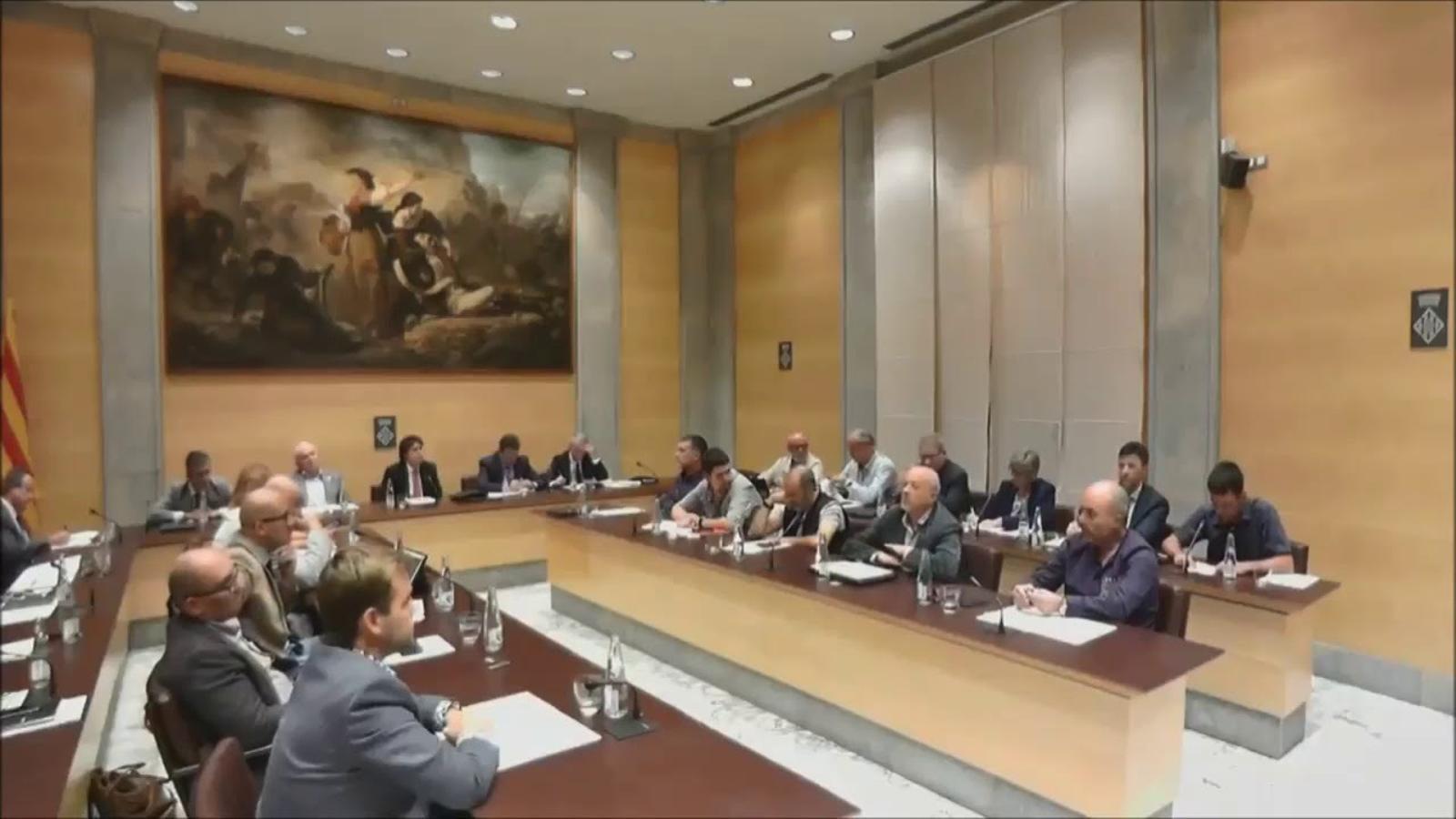 Intervenció de Lluc Salellas durant el ple de Girona que va declarar Enric Millo persona 'non grata'