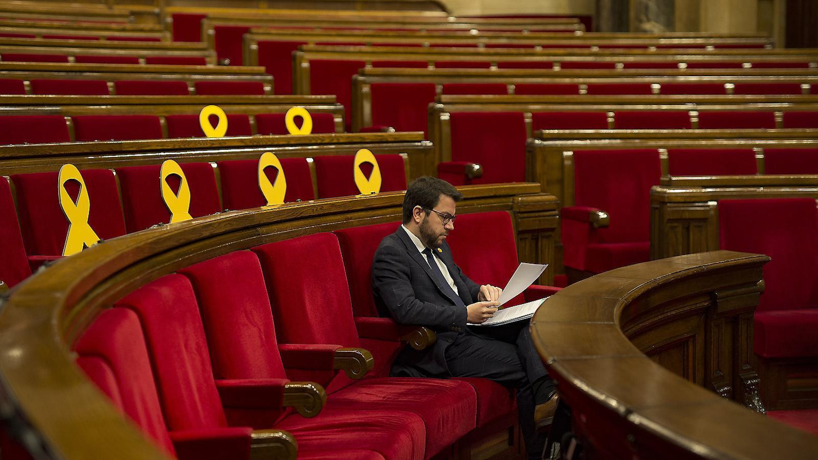 El vicepresident econòmic, Pere Aragonès, presentarà aquesta setmana els pressupostos de la Generalitat per al 2019.