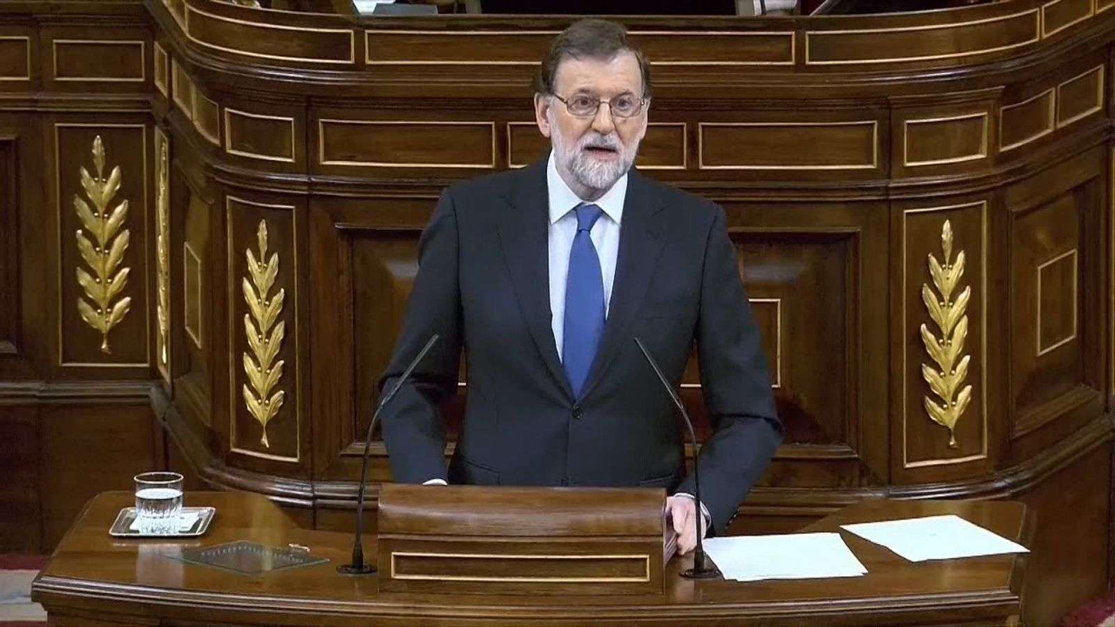 """Rajoy: """"Mentre sigui president les pensions pujaran sempre"""""""