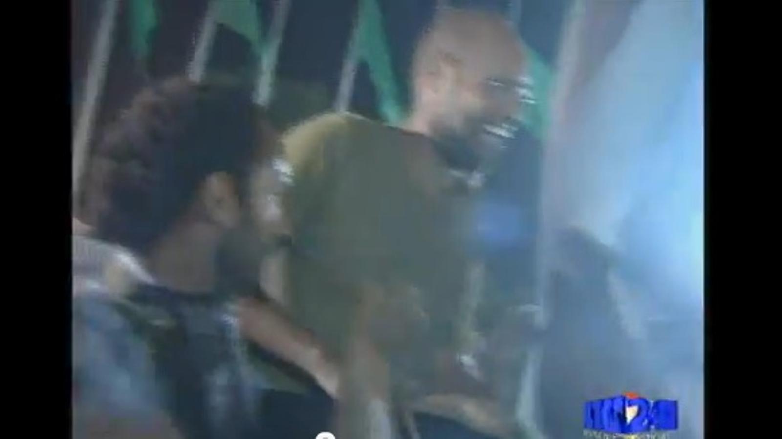 Saif Al-Islam, fill de Gaddafi, als carrers de Trípoli