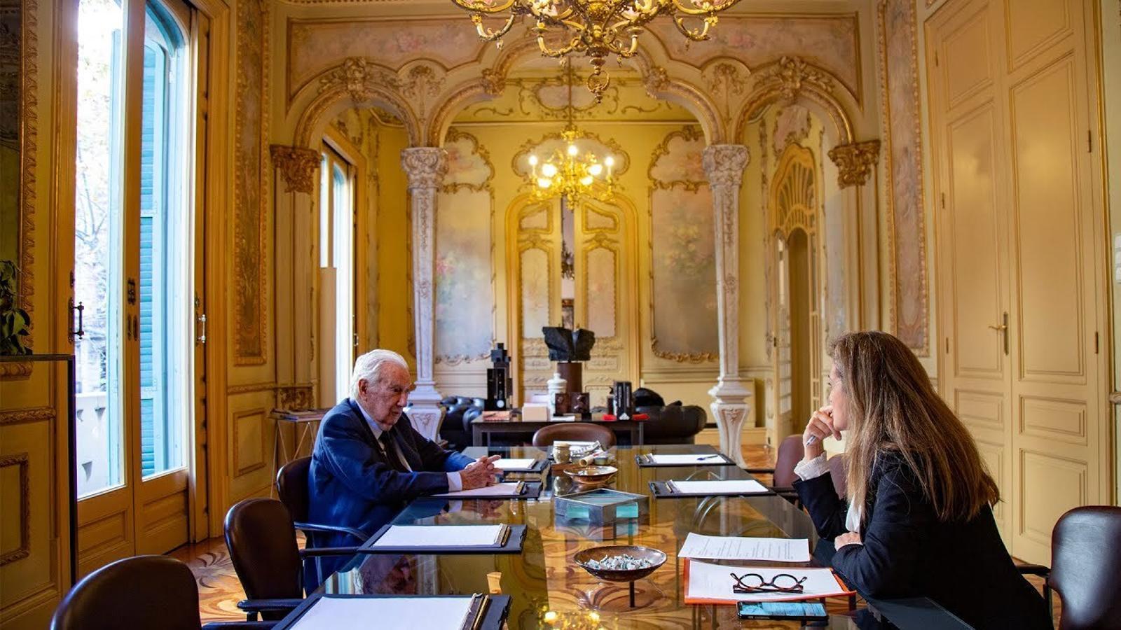 Entrevista d'Esther Vera a Antoni Vila Casas