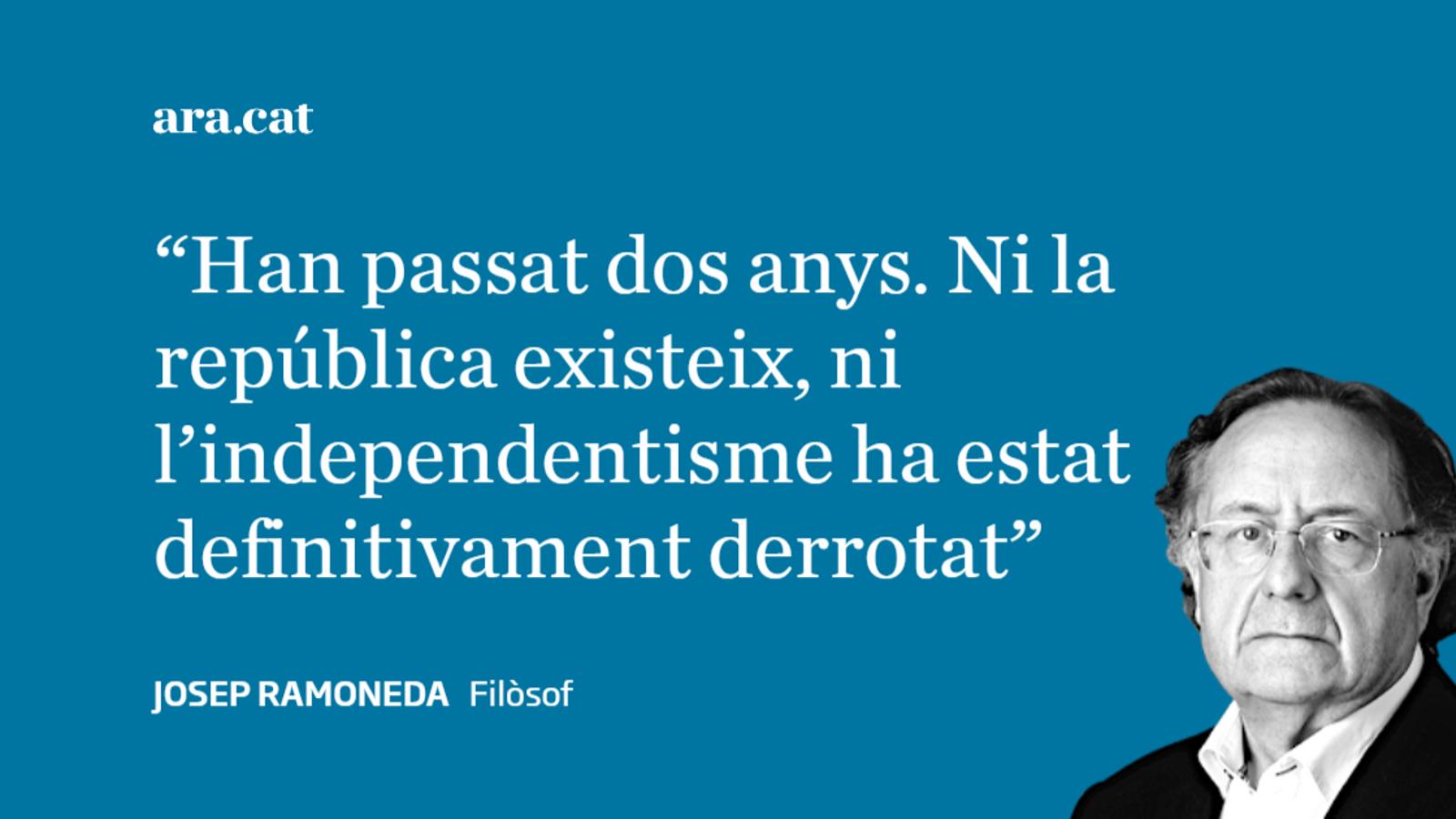 De Mandat A Símbol Josep Ramoneda