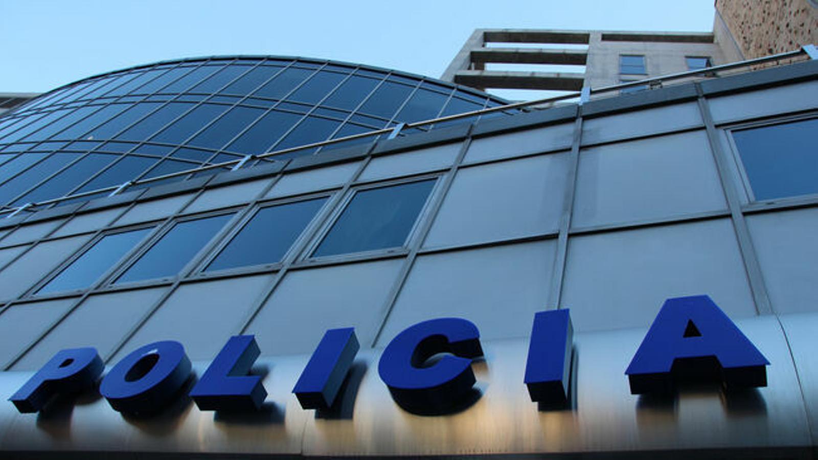 Façana de l'edifici de la Policia d'Andorra. / ARXIU ARA