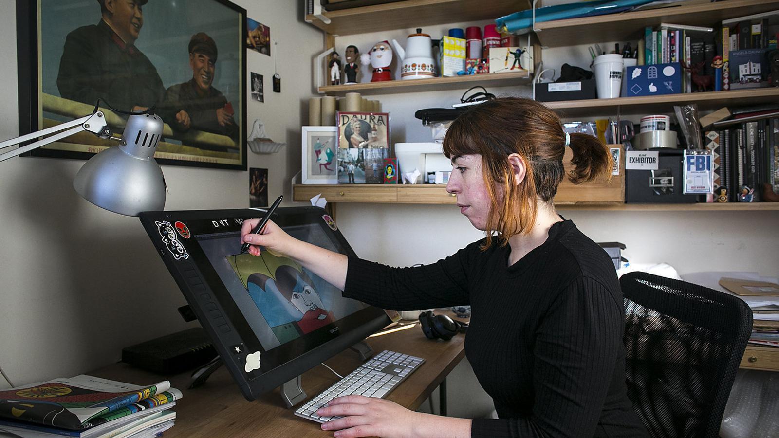 Cristina Daura, de la Massana al 'New Yorker'