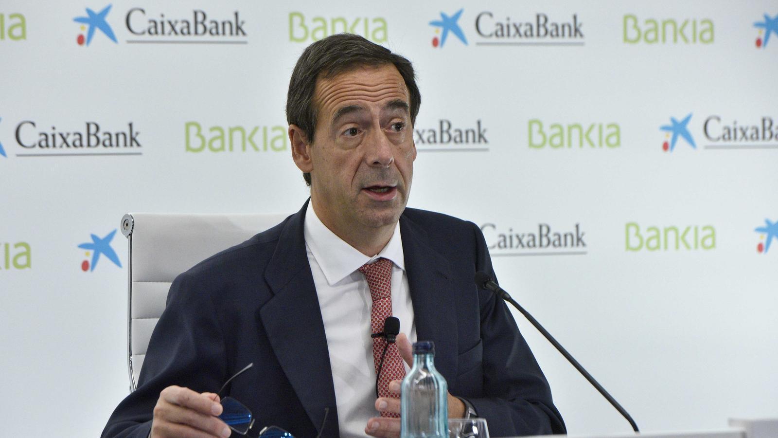 El conseller delegat del nou CaixaBank, Gonzarlo Gortázar.