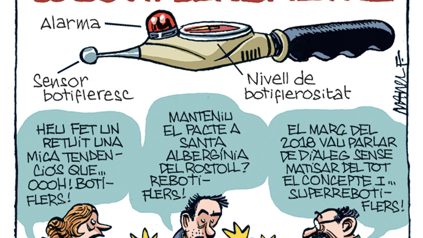 La vinyeta de Manel Fontdevila 06/11/19