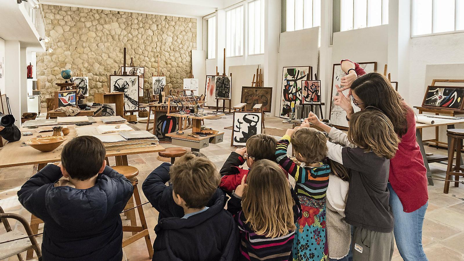 Els museus  No fan els deures en educació