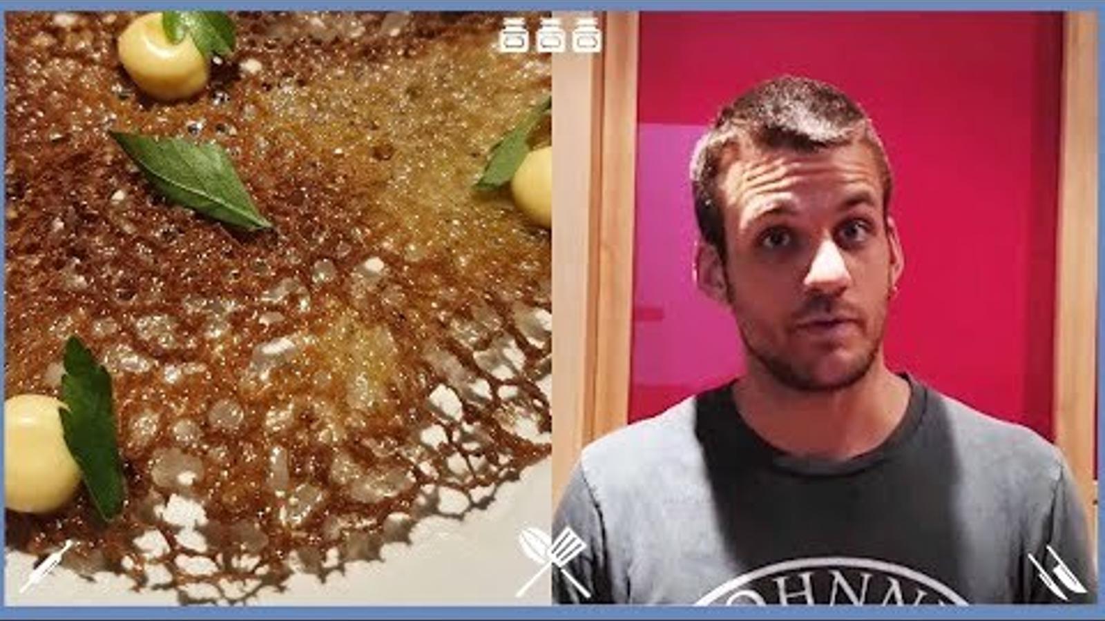 Com fer truita de musclos? Recepta del cuiner Marc Dinarès, del restaurant La Taverna del Ciri
