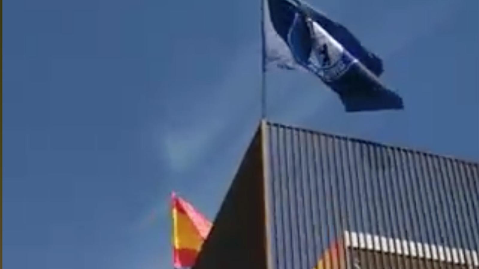 Vídeo de l'ocupació d'Hogar Social a Banco Madrid