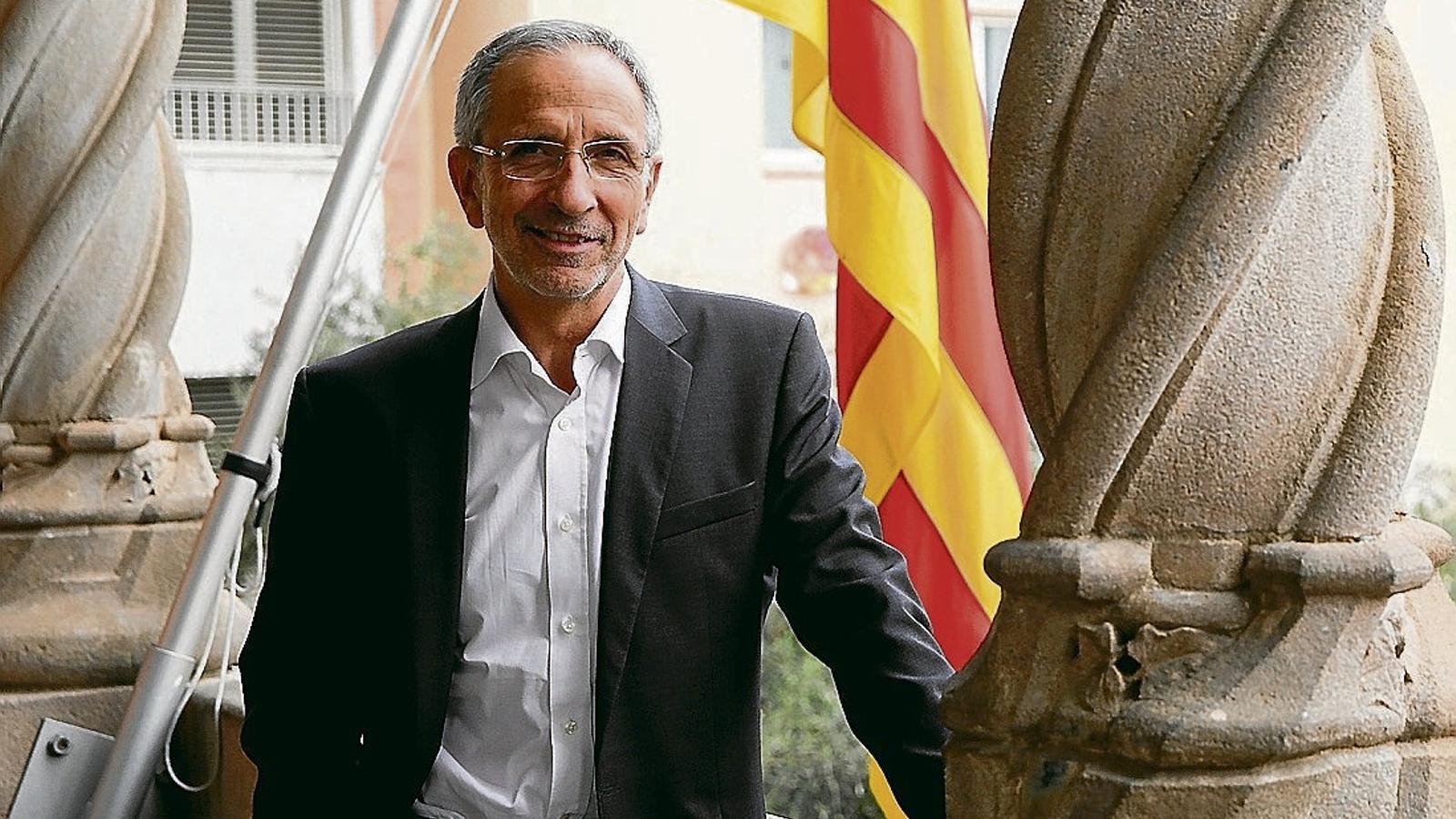 """Josep Mayoral: """"Hem de reclamar un referèndum legal i acordat"""""""