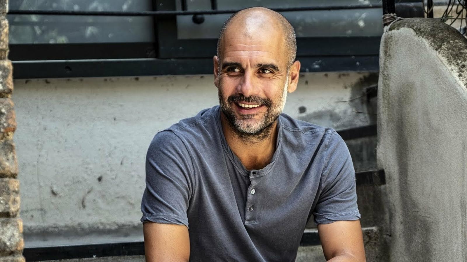 Entrevista a Pep Guardiola, Entrenador del Manchester City