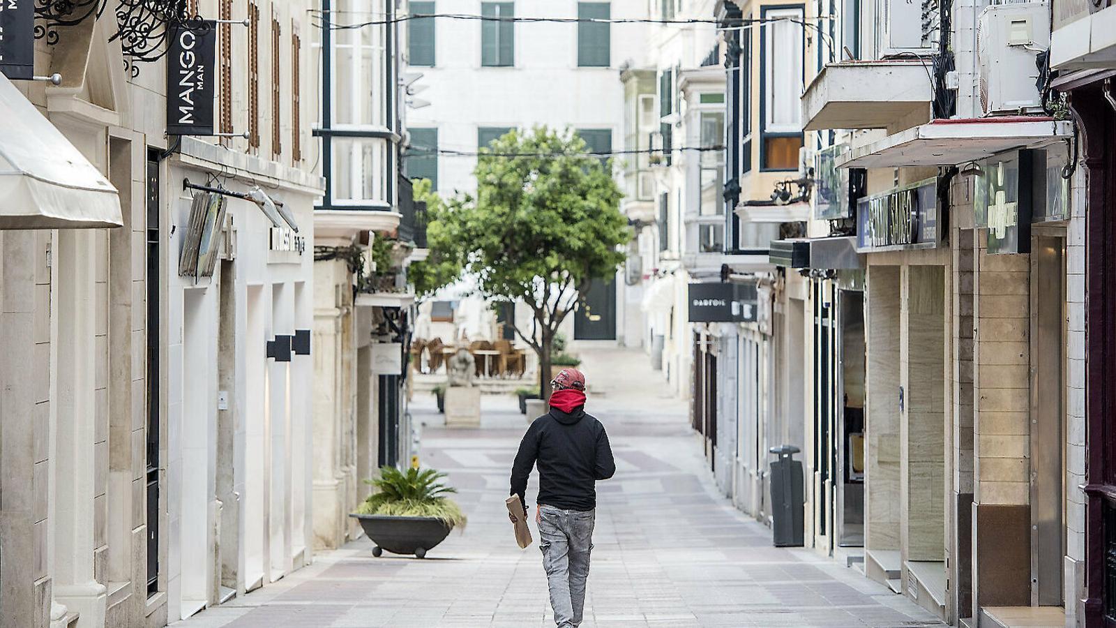 Els comerciants de Menorca afronten un hivern on els tancaments estaran a l'ordre del dia.