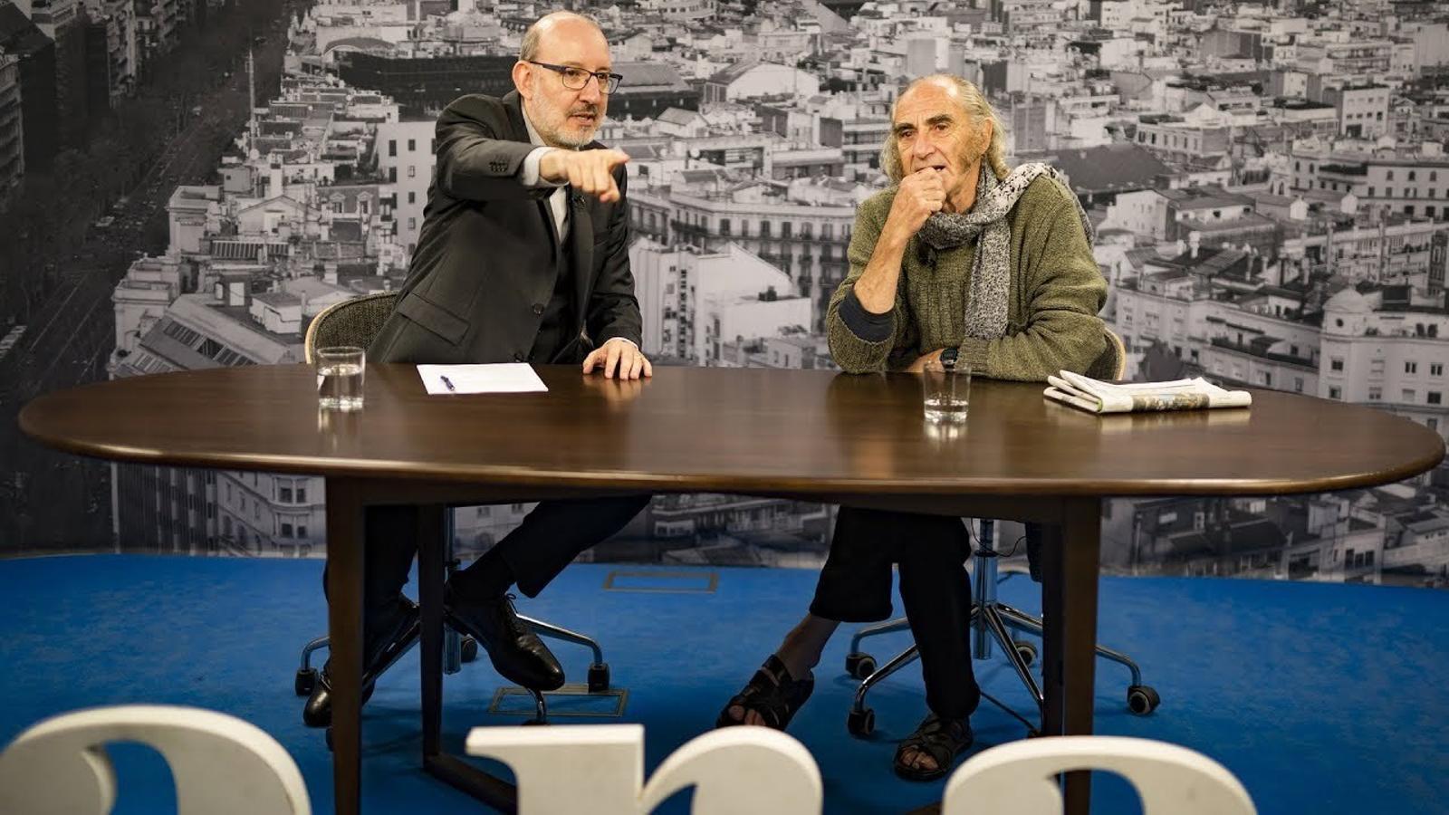 Entrevista d'Antoni Bassas a Pau Riba