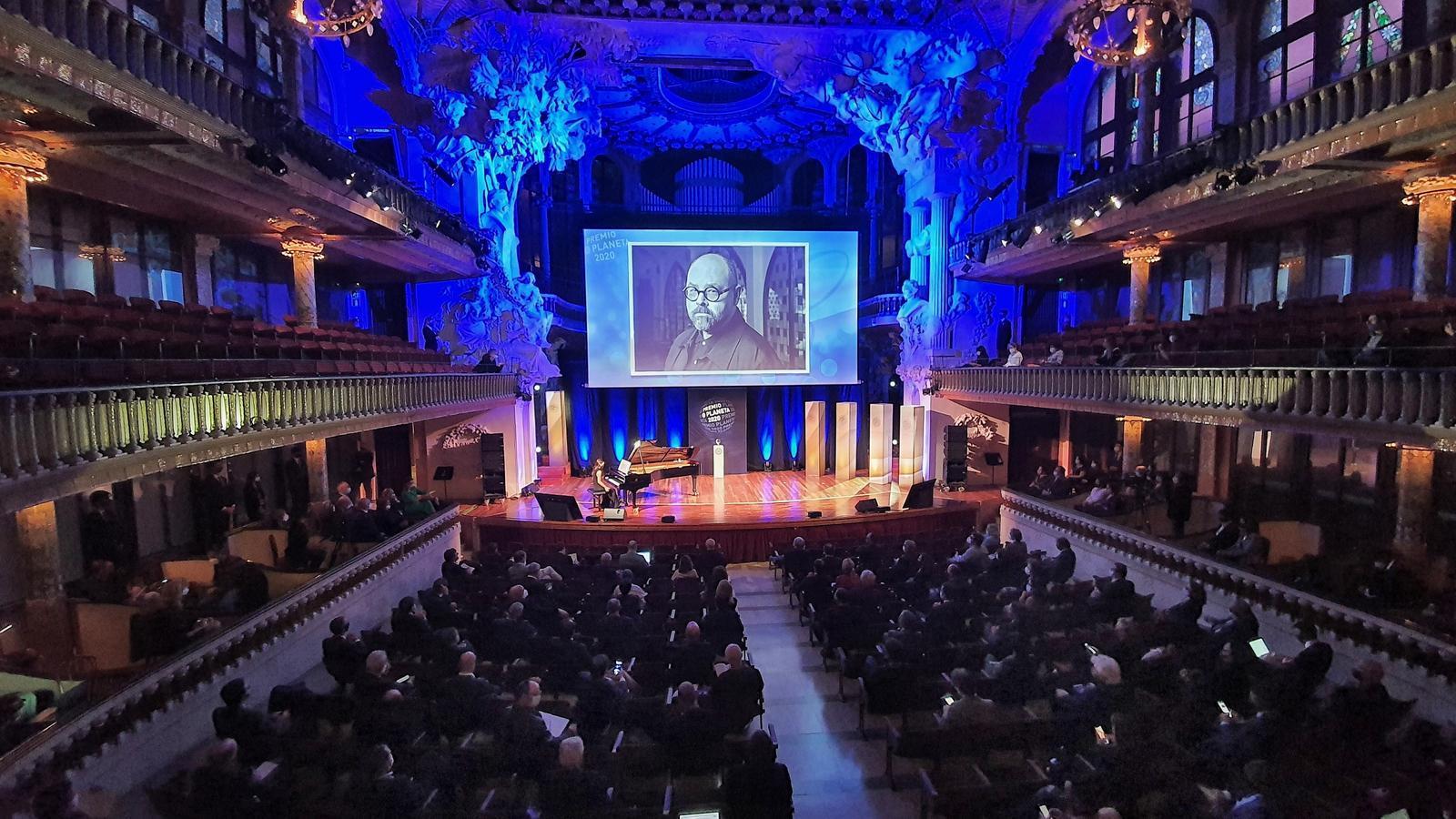 Homenatge a Carlos Ruiz Zafón al Palau de la Música