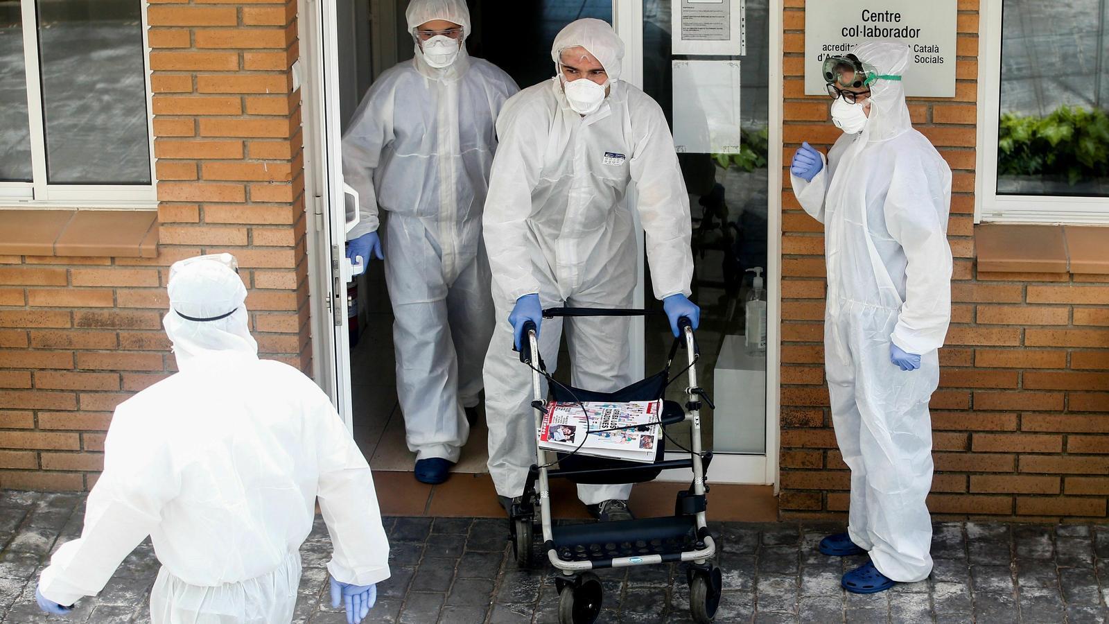 La Generalitat eleva a 511 els morts per coronavirus en residències de gent gran