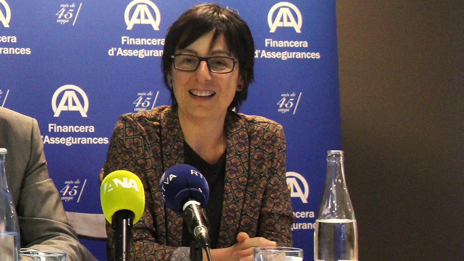 La directora d'Unicef Andorra, Marta Alberch. / M. F. (ANA)